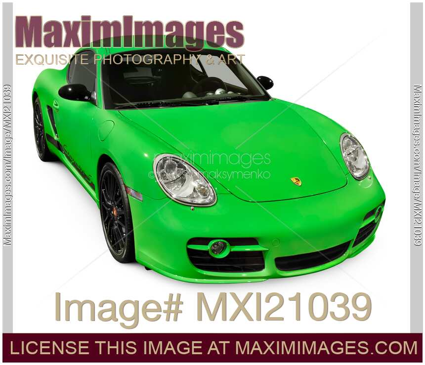 2008 Porsche Cayman Camshaft: Stock Photo: 2008 Porsche Cayman S Sport