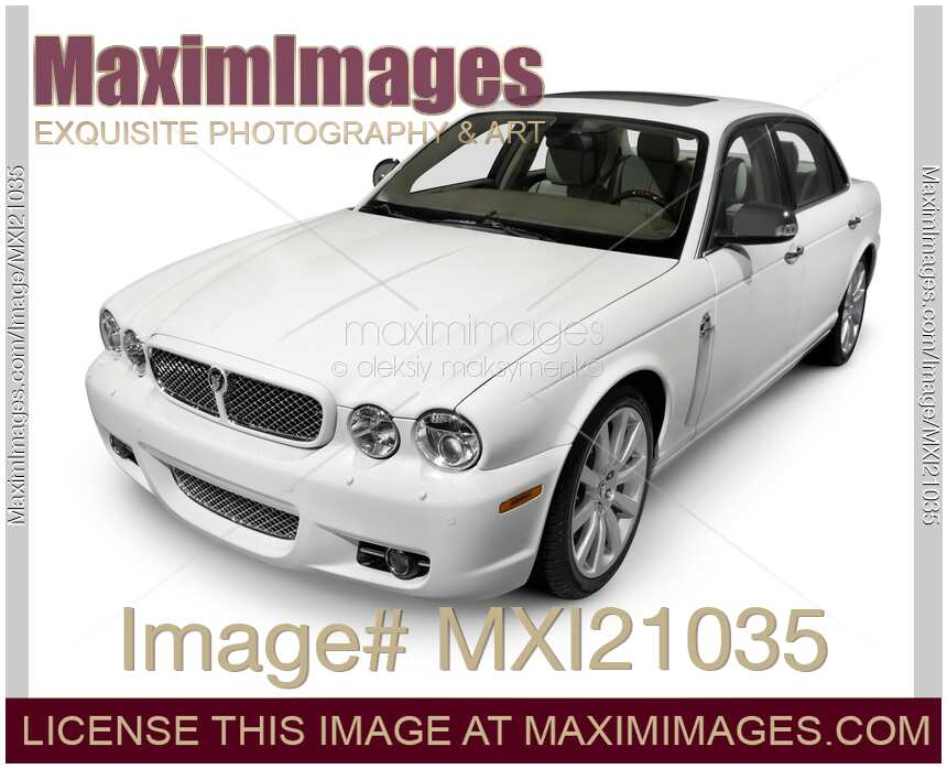 Stock Photo Of 2009 Jaguar XJ Vanden Plas
