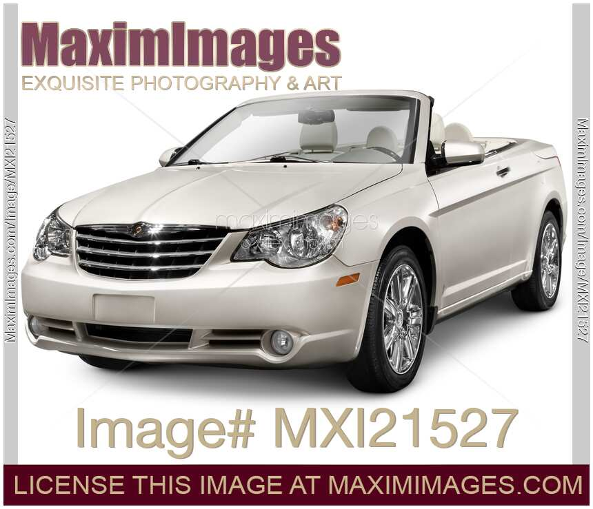 Stock Photo: 2010 Chrysler Sebring Convertible Limited