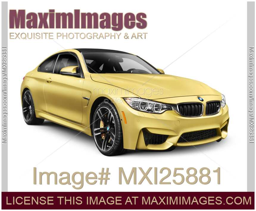 Stock photo 2015 bmw m4 coupe performance car maximimages for Stock car a couture 2015