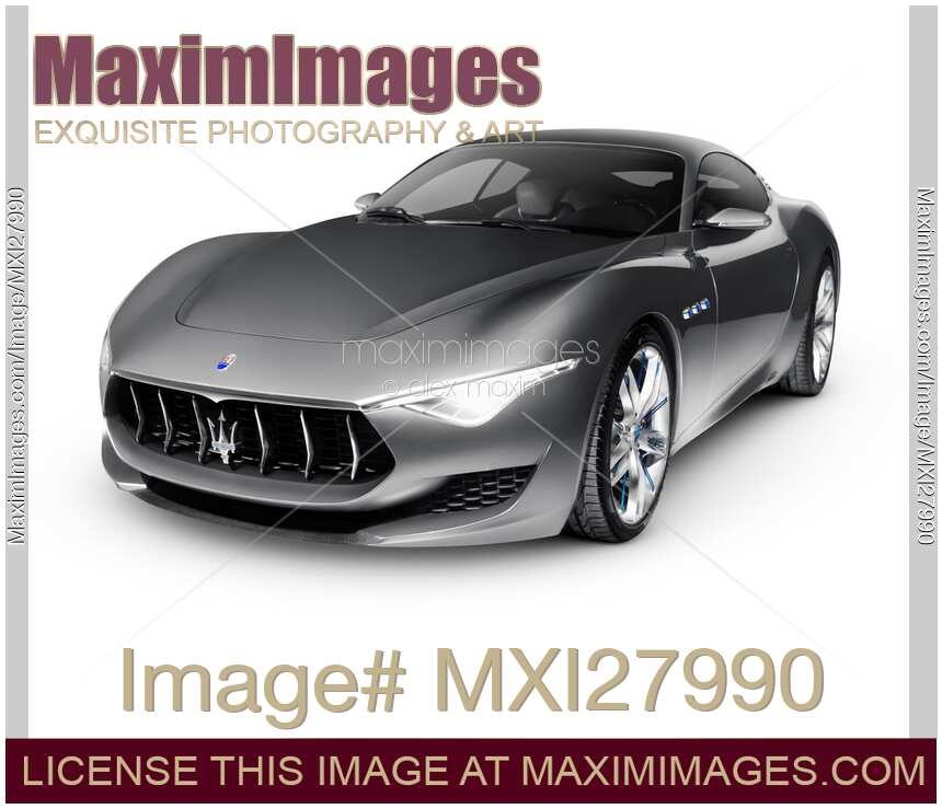 Stock photo 2015 maserati alfieri luxury car maximimages for Stock car a couture 2015