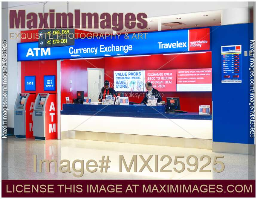 Photo Of Airport Currency Exchange
