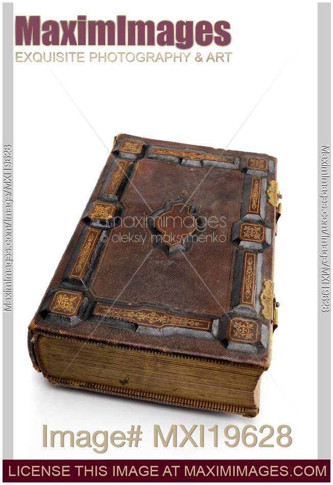 Book Cover Stock Photography : Stock photo antique hard cover book maximimages image