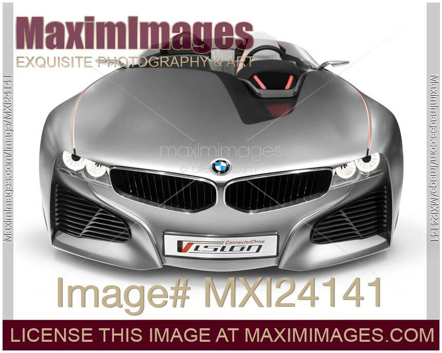 Stock Photo Bmw Vision Connected Drive Concept Sports Car Front
