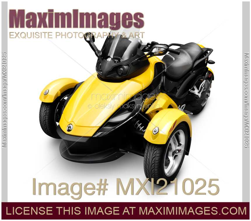 Brp Can Am >> Photo Of Brp Can Am Spyder Roadster Stock Image Mxi21025