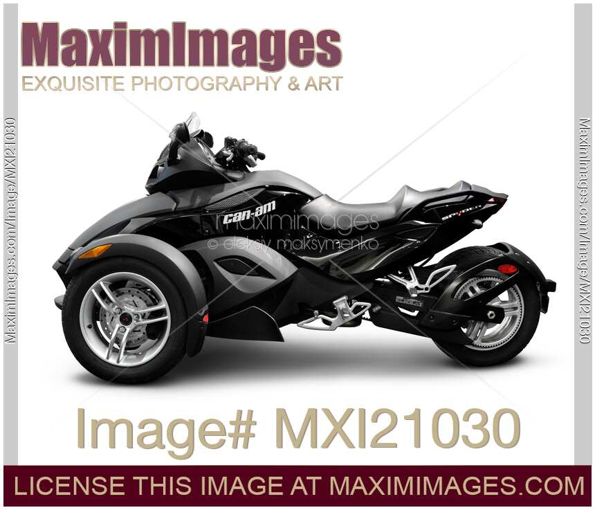 Brp Can Am >> Photo Of Brp Can Am Spyder Roadster Stock Image Mxi21030