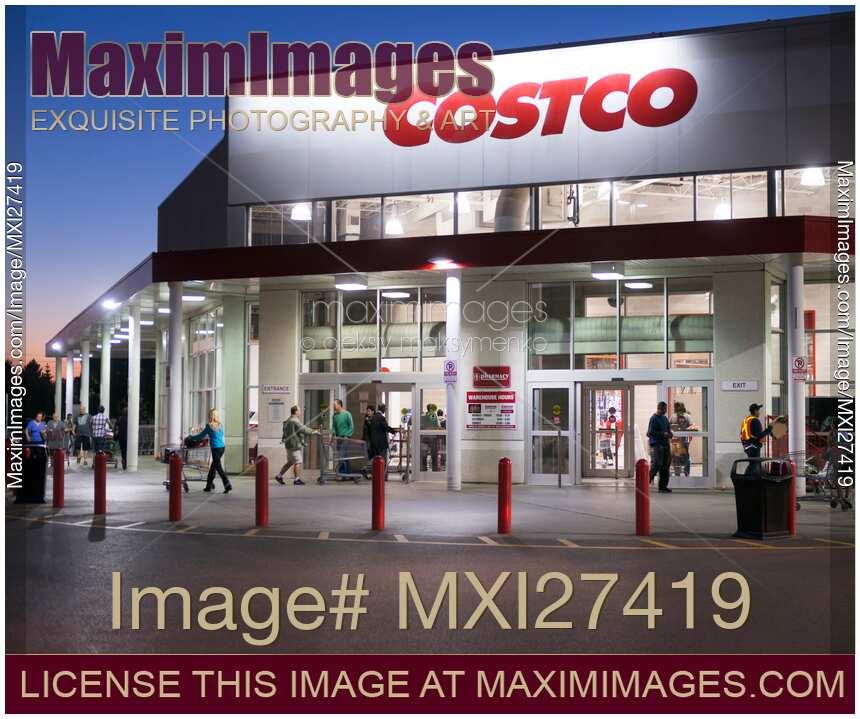 In Store Costco: Stock Photo: COSTCO Store In Toronto Canada