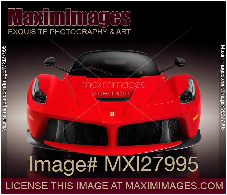 Ferrari Front: Photo Of Ferrari F150 LaFerrari Supercar Sports Car Front