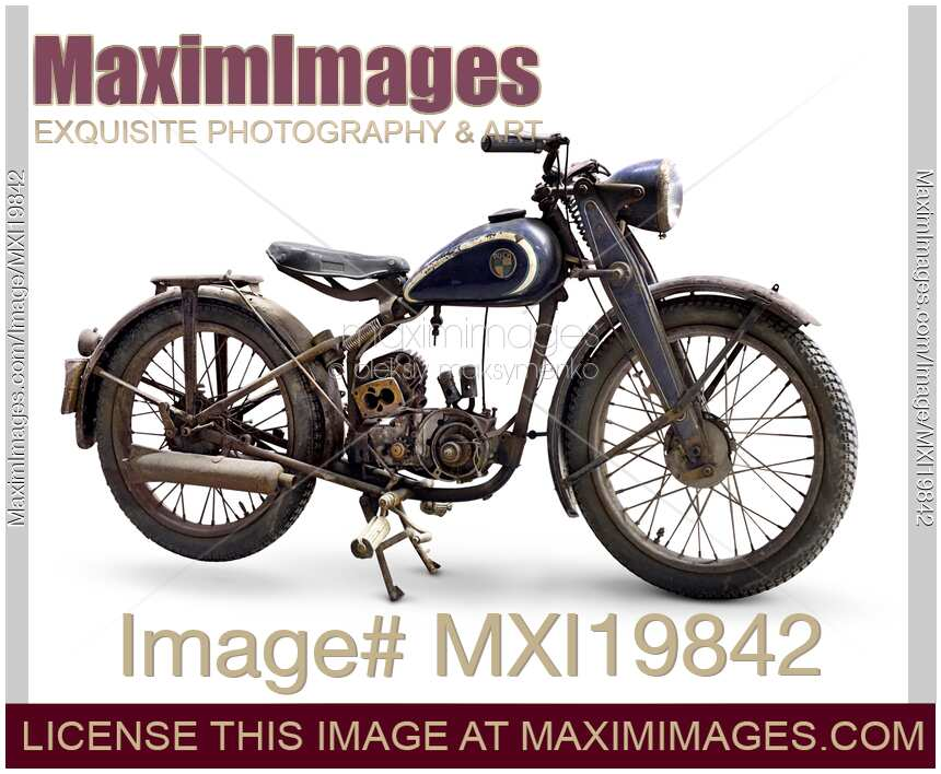 stock photo puch 125 vintage motorcycle maximimages. Black Bedroom Furniture Sets. Home Design Ideas