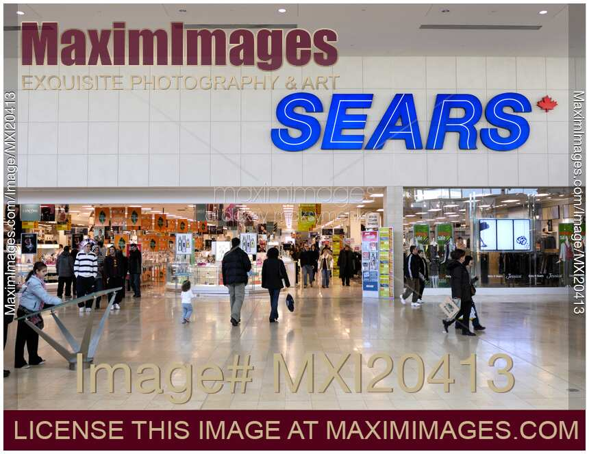 Stock photo sears at yorkdale shopping centre maximimages stock photo of sears at yorkdale shopping centre ccuart Images