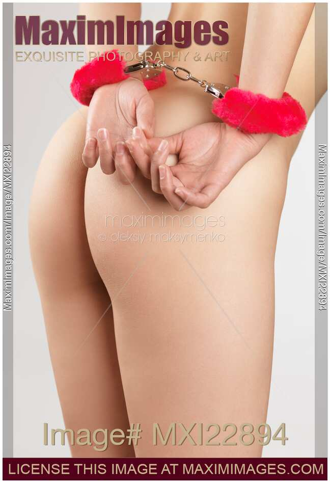 Stock Woman Hands In Pink Handcuffs Maimimages Image