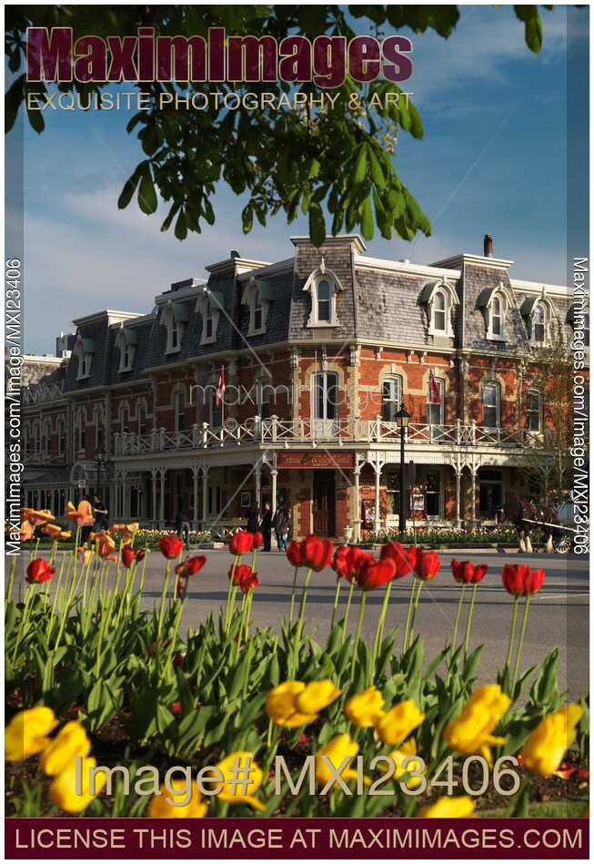 stock photo prince of wales hotel at niagara on the lake. Black Bedroom Furniture Sets. Home Design Ideas