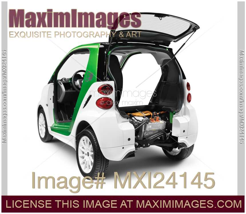 Stock Photo 2012 Smart Fortwo Electric Drive Car With