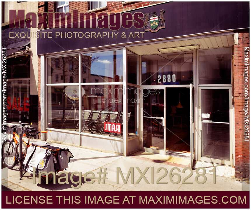 stock photo smash vintage home decor store at the