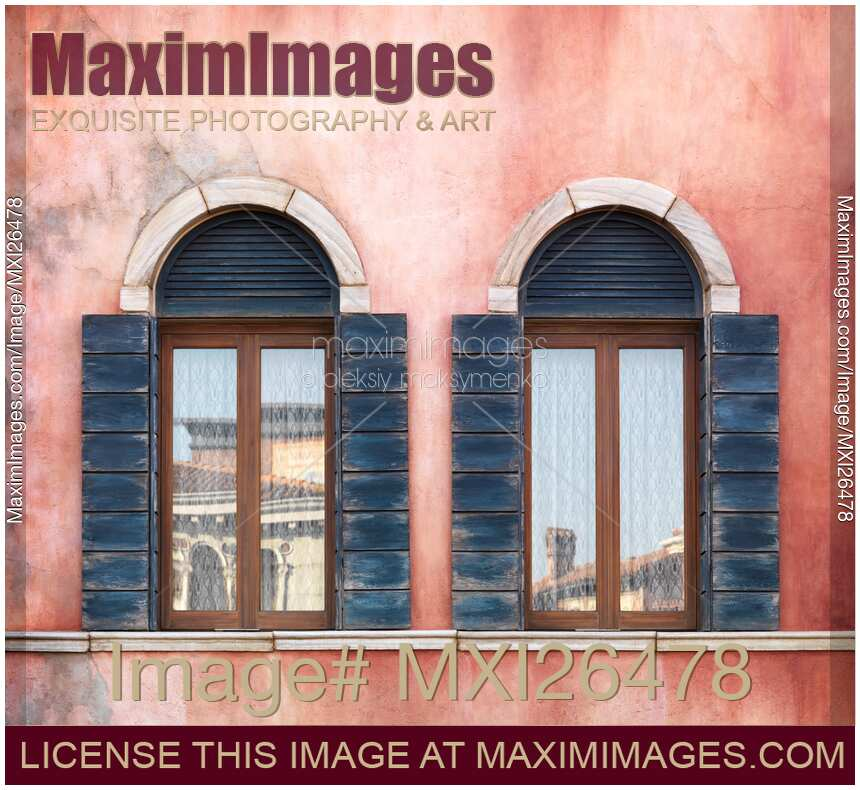 Stock Photo Old Arched Windows Maximimages