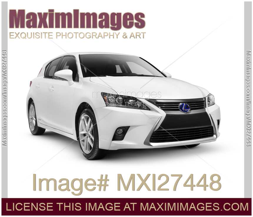stock photo 2014 lexus ct 200h compact luxury hybrid car maximimages. Black Bedroom Furniture Sets. Home Design Ideas