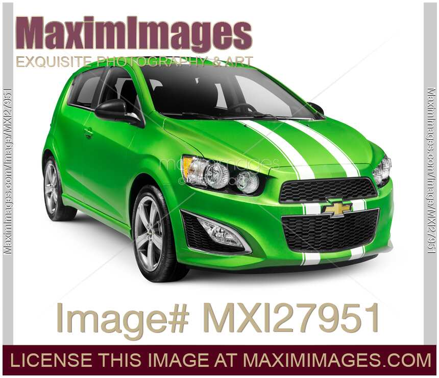 stock photo 2015 chevrolet sonic rs small car maximimages. Black Bedroom Furniture Sets. Home Design Ideas