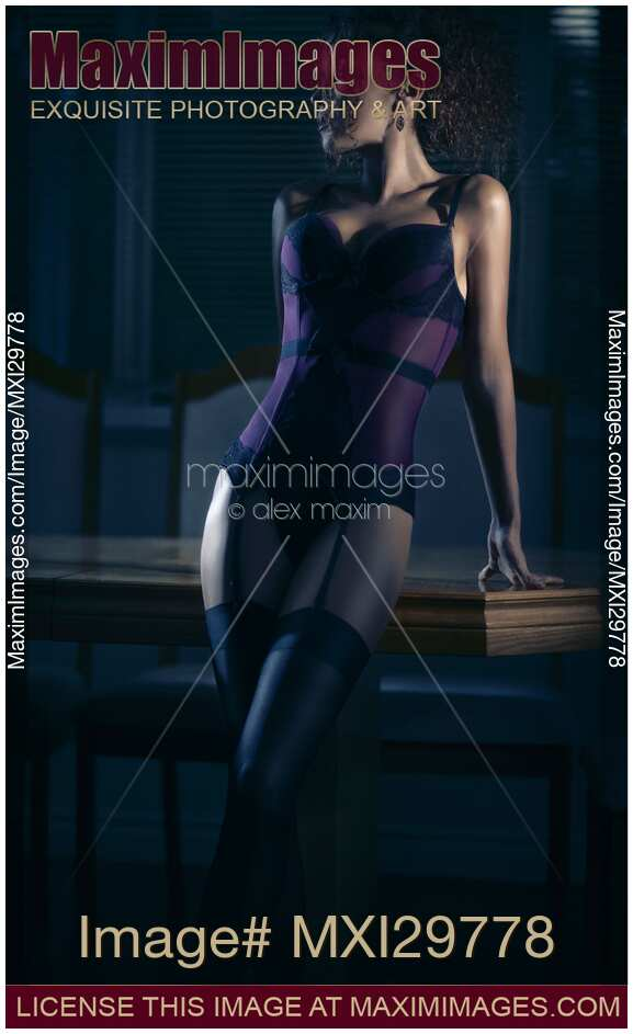 Corset sexy glamour photography