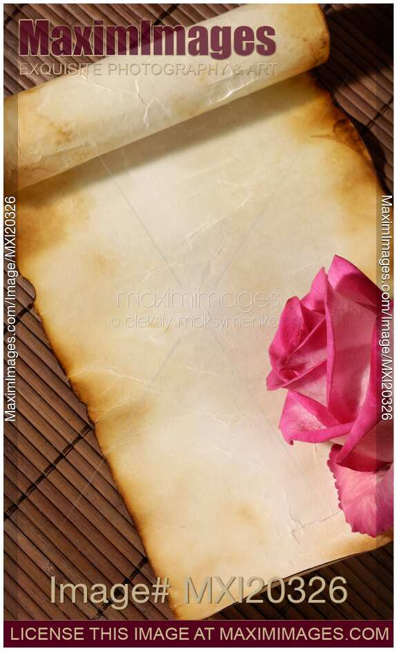 stock photo of love letter romantic background