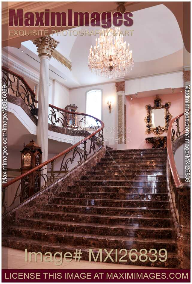 Stock Photo Of Marble Staircase