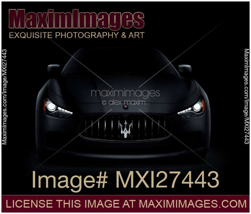 2014 Maserati Ghibli Head Gasket: Stock Photo: Maserati Ghibli S Q4 Luxury Car On Black