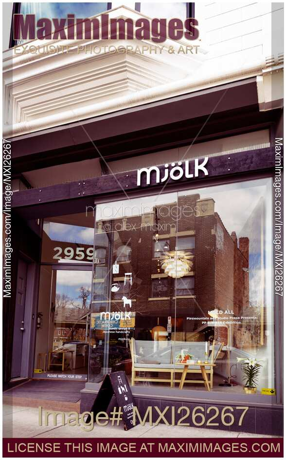 Mjolk Interior Design Shop At The Junction Neighbourhood In Toronto Canada