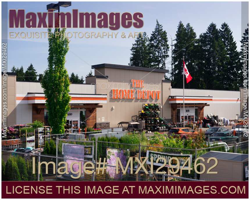 Photo Of The Home Depot Store Front In Canada Stock Image Mxi29462