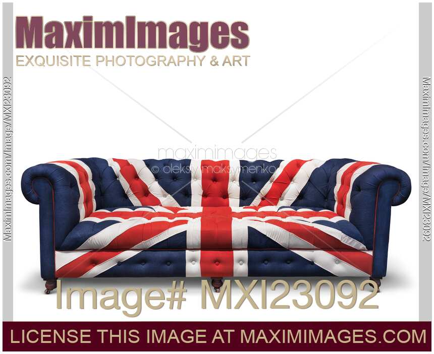 Stock Photo Of Union Jack Sofa