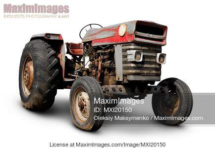 Photo Of Old Tractor Stock Image Mxi20150