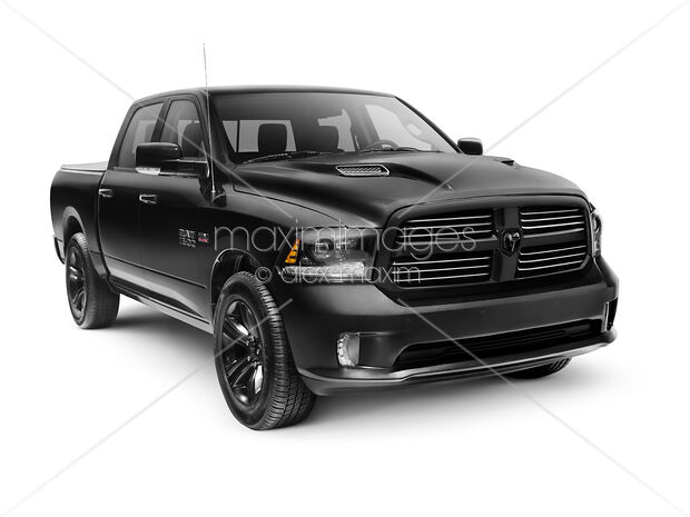 Dodge Ram 2015 >> Stock Photo Of Black 2015 Dodge Ram 1500 4x4 Pickup Truck Image Mxi27965 At Maximimages Com