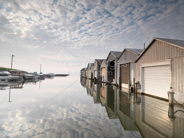 Stock Photo Of Boat Houses At Lake Erie Image Mxi23561 At Maximimages Com