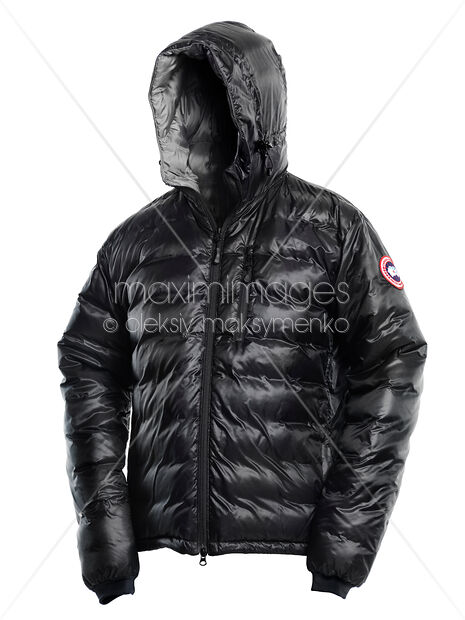 c662baf145f Stock photo of Canada Goose Black Winter Jacket Buy commercial use license  at MaximImages