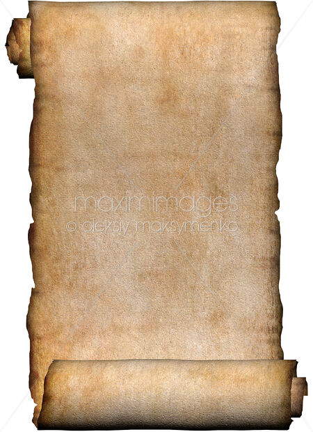 mcript-rustic-roll-of-parchment-MXI18329 Old Scroll Paper Template Letter on template without backgroung, black background, black white, wax seal,