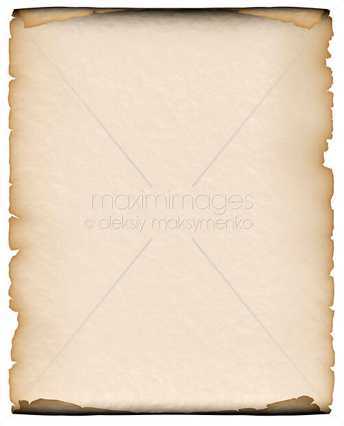 Ilration Of Parchment Paper Background