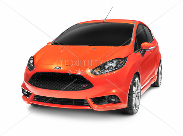Stock Photo Red 2012 Ford Focus St Car Maximimages Image Mxi25150