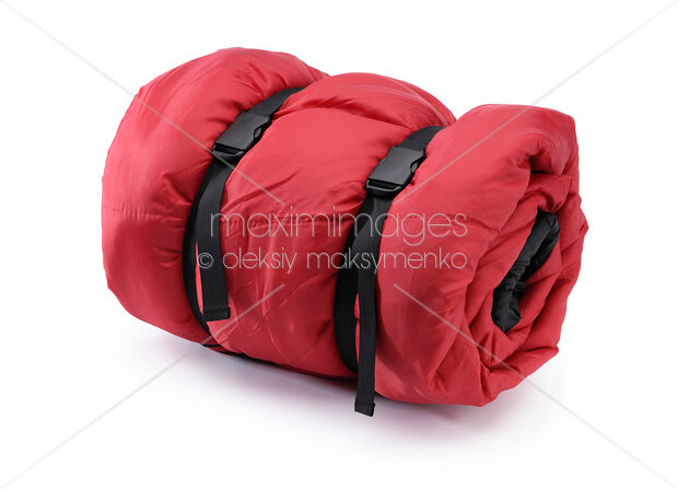 Stock Photo Of Rolled Up Sleeping Bag