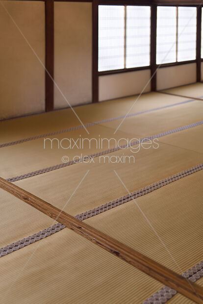 Room With Tatami Straw Mat Flooring In A Traditional Anese Interior Daigoji Temple Kyoto An Maximimages Stock Photo