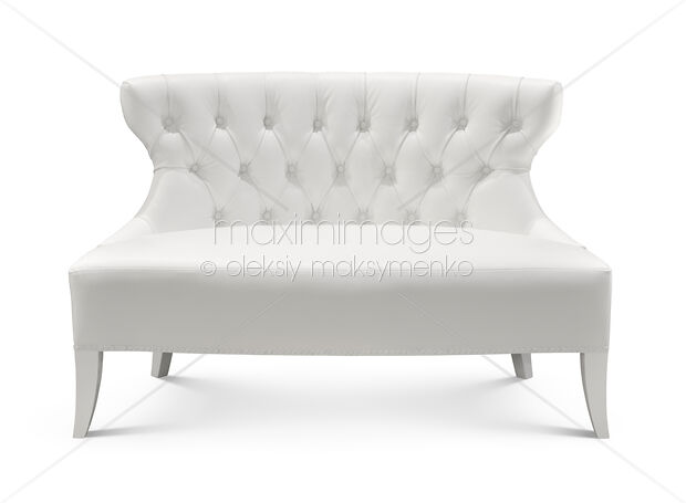Pleasing Stock Photo Of White Loveseat Image Mxi19974 At Maximimages Com Cjindustries Chair Design For Home Cjindustriesco