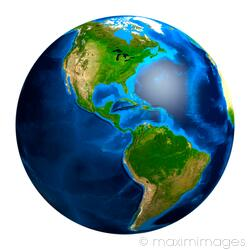 Image Of Earth Globe South And North America Stock Image Mxi21923 The total area of the country is about nine and a half million square kilometers. maximimages