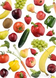 Rain of Fruits and Vegetables