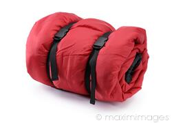 Stock Photo Of Rolled Up Sleeping Bag Image Mxi19722 At Maximimages
